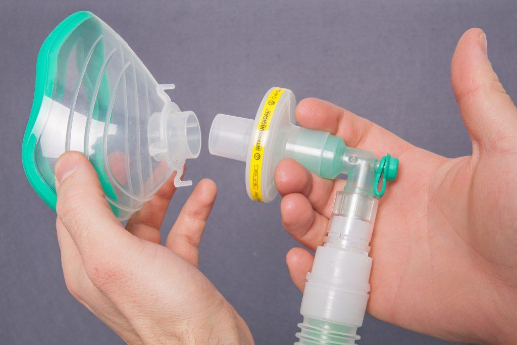 Maske an Schlauchsystem Geburtshilfe Biewer medical